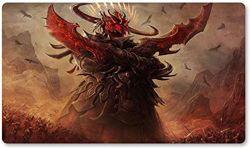 Alfombrillas de Juego – Avatar-of-Slaughter – Juego de Mesa MTG Playmat Juego tamaño 60 x 35 cm Alfombrilla de Juego para ratón para Yugioh Pokemon Magic The Gathering: Amazon.es: Oficina y papelería