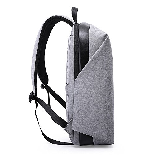15 Up Trip Modern Business Grey Size Laptop Tech Bag Olanstar for Laptop 6 Backpack Business iPad 9 Bicycling inch College to 7 Travel Slim Fits inch Bag Design Black School Pd44qwxOF