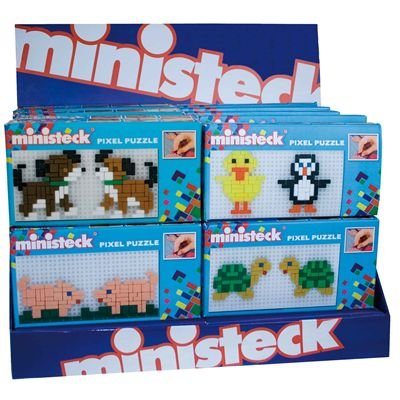 MINISTECK PIXEL PUZZLE (styles will vary) Minsteck