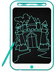 Richgv LCD Writing Tablet 12 Inch Graphic Drawing Board with Pen,Kids Doodle Pad,Electronic Ewriter,Handwriting Pad Toys for Kids Birthday Gifts(Green)