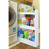 Slide Out Storage Tower For Kitchen Or Laundry / Utility Room