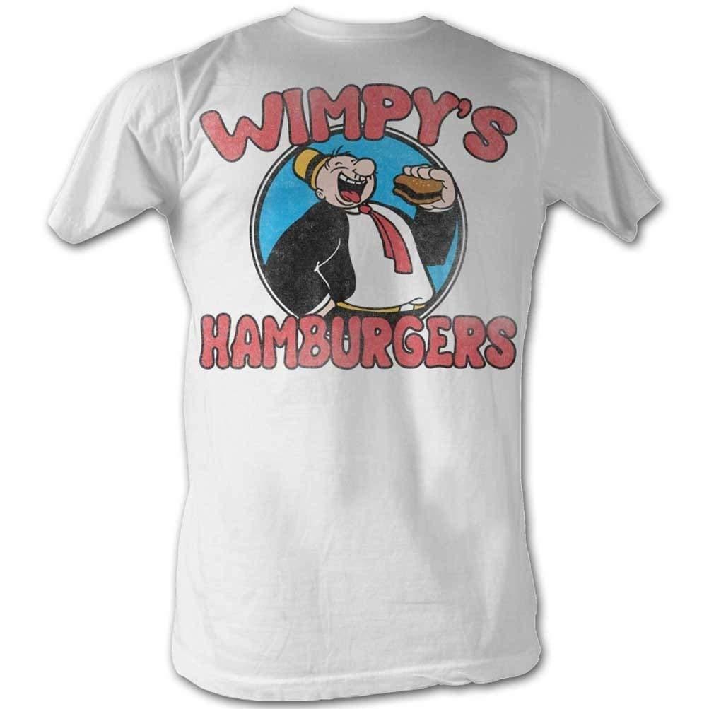 A E Designs Popeye Shirt Wimpy S Burgers T Shirt