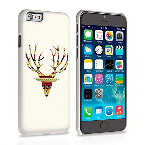 Caseflex iPhone 6 / 6S Hülle Aztekisch Hirschbock Hart Schutzhülle