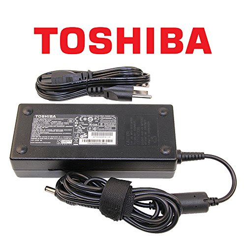 Toshiba Original 120W Laptop Charger for Toshiba Satellite Series Notebook Power-Adapter-Cord