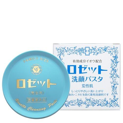 Rosette Cleansing pasta For dry rough skin (areshou-sikn 90g) (japan import) Rosette Japan 4901696101025