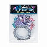 Glitter New Years Tiaras, 12ct
