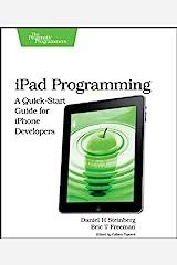 iPad Programming Paperback