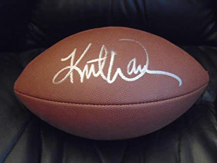 on sale 259d2 ed544 KURT WARNER ARIZONA CARDINALS ST. LOUIS RAMS AUTOGRAPHED ...