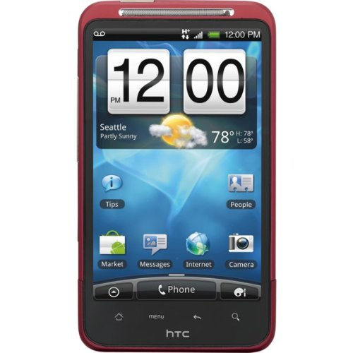 HTC Inspire 4G Android Phone, Red (AT&T)