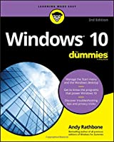 Windows 10 For Dummies, 3rd Edition Front Cover
