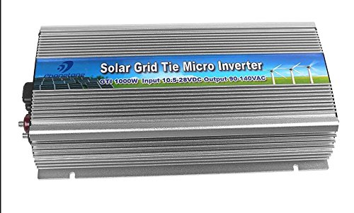 1000w Grid Tie Inverter Grey Color AC110 DC20-50V Pure Sine Wave Output Powe Inverter