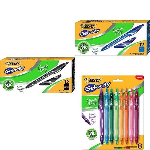 Gel Pen: Gel-ocity Quick Dry Bundle