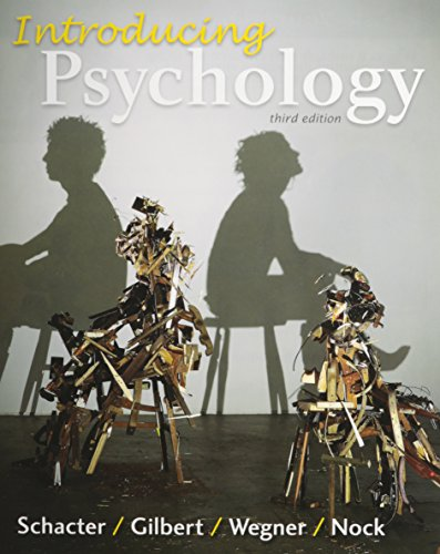 Psychology schacter 3rd edition