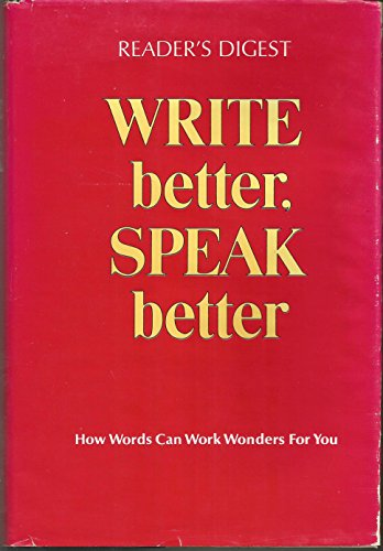 Download pdf reader s digest write better speak better full download pdf reader s digest write better speak better full online by reader s digest association fandeluxe Gallery