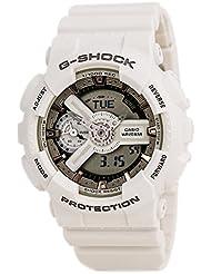 Casio G-Shock White and Rose Dial Resin Quartz Mens Watch GMAS110CM-7A2