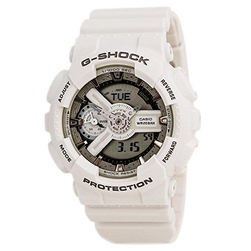 Casio G Shock White Quartz GMAS110CM 7A2