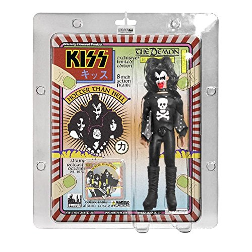 "KISS 8 Inch Action Figures Series Two ""The Demon"" Hotter Than Hell Bloody Variant"