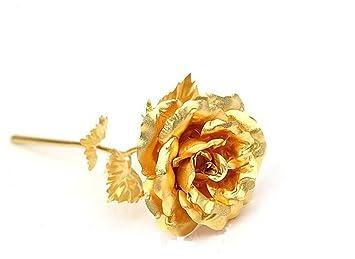 CharitesR 24k Golden Rose Flowers