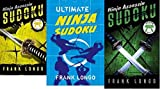 Frank Longo Three - 3/Pack (Ultimate Ninja Sudoku + Ninja Assassin Sudoku Yellow Belt + Ninja Assassin Sudoku Green Belt)