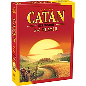 Catan 5-6 Player Extension - 5th Edition - 51KyLMLfjAL - Catan Extension: 5-6 Player