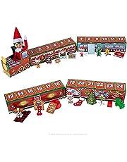 Christmas Advent Calendar 2021, Christmas 24 Days Countdown Advent Calendar Fidget Toys, The Elf on the Shelf North Pole Advent Train for Kids Boys Girls Adults