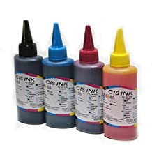 Universal 4 Color 100ML Dye Ink For HP for Canon For Epson printer ink all models Refill Ink Kit (Black Cyan Magenta Yellow)
