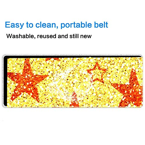 Mouse Pad Rectangle Mouse Pad Stars Wallpaper Lovely 320mm240mm3mm ()