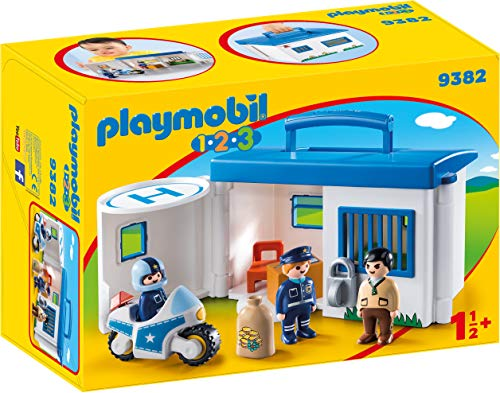 PLAYMOBIL® Take Along Police Station, Multicolored
