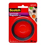 Office Products : Scotch 0.5-Inch x 4-Feet Magnetic Tape (MT004.5)