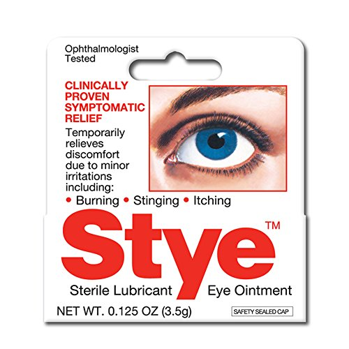 Stye Sterile Lubricant Ointment | Stye Relief from Burning, Stinging, Itching | 0.125-Ounce
