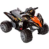 Rip-X Kids 12V Sports Style Kids Ride On Electric Quad Bike - Black