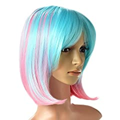 Description AGPtEK Women's Wig is a much-have for your daily and cosplay use. Be of very stylish design with natural pretty looking and soft touch, our wigs are crafted using the latest synthetic fiber technology and assembly techniques, resu...