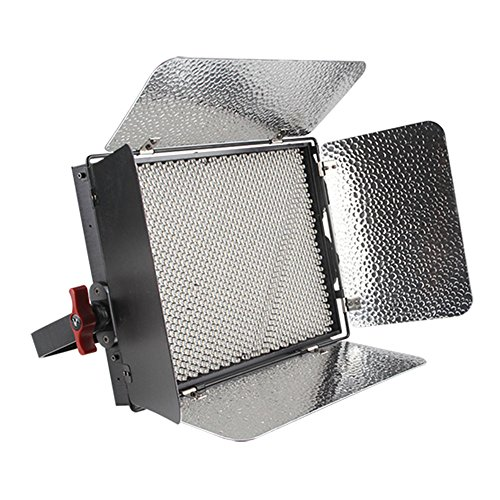 Aputure LS-1C Storm 1536 Lamp Beads Bi-Color LED Light Panel with V-mount Plate Plus F-V Converter Adapter by Aputure