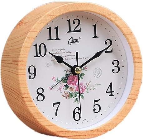 Table Horloge Muet Chevet Heart Warm Réveil Étudiant De 1TlKFJc3