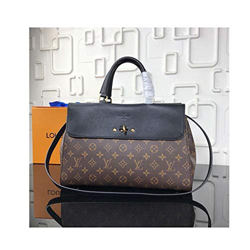 L 41778 Bag for Womens Handbag Designer Fashion Single Shoulder Messager Bags -Black ()
