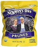 Newman's Own Organics California Prunes, Pouches, 12 Ounce