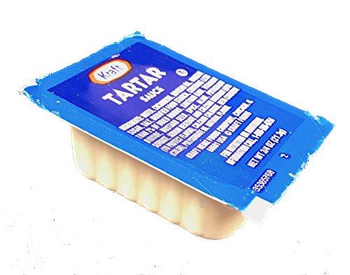 Kraft Creamy Tartar Sauce Cups - Box of 50