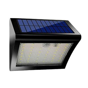 Luces Solares Con Sensor AGM, 38 Luces De Paso De Luz LED Con Energía Solar