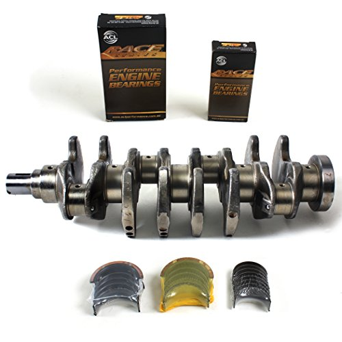 CS2200BK1185H New Forged Crankshaft (Made of 4340 Steel) & ACL RACE Main Rod Bearing Set for 93-97 Mitsubishi Eclipse Eagle Talon Plymouth Laser Turbo 2.0L 4G63 4G63T (Eagle 4340 Steel Crankshaft)