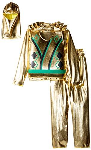 Charades Child Golden Ninja Series III Costume, Gold, -