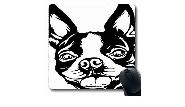 Alfombrillas de Dibujo Boston Terrier Lap Perro Cachorro Raza ...