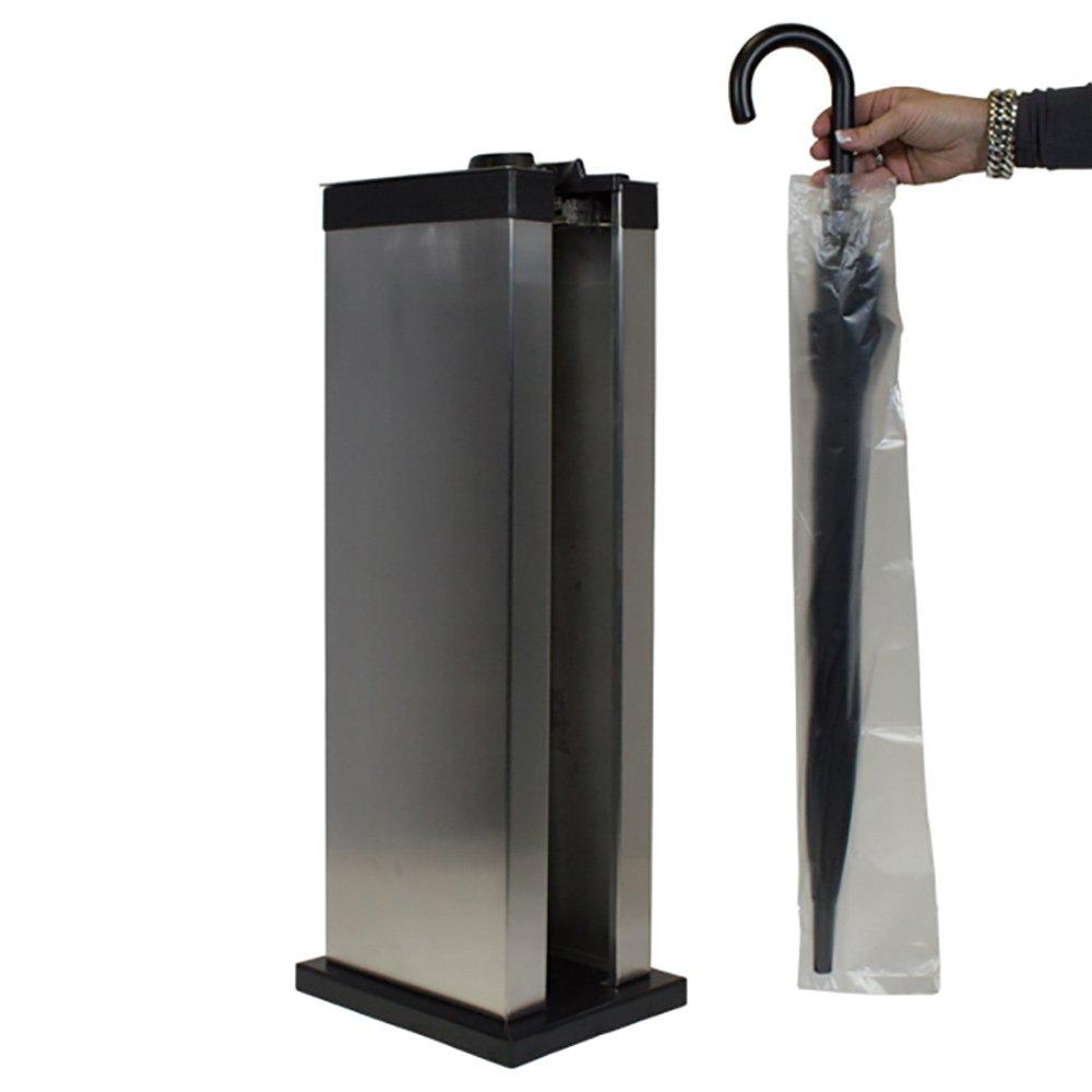 Máquina Embolsadora Paraguas Simple, acero inox, incluye bolsas: Amazon.es: Oficina y papelería