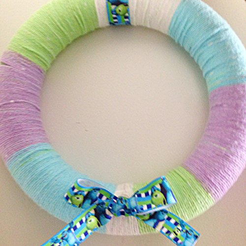 Yarn Wreath - 9