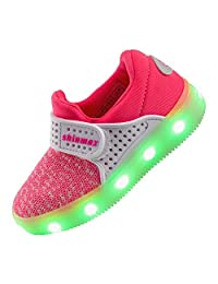 Shinmax LED Shoes Light up Shoes CE certification 7 Colors Sport Shoes Led Sneaker for Women&Men&Kids