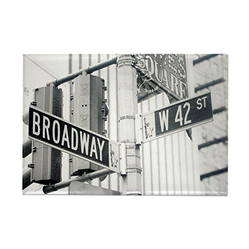 CafePress - NY Broadway Times Square - Magnets - Rectangle Magnet, 2