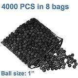 AQUANEAT 1'' Bio Balls Aquarium Pond Filter Media Free Media Bag New Design (4000pcs)