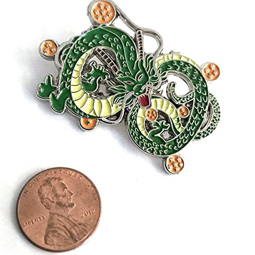Price comparison product image Dragon Ball Son Goku Vegeta Shenron Shenlong Collectors Anime Pin Brooch