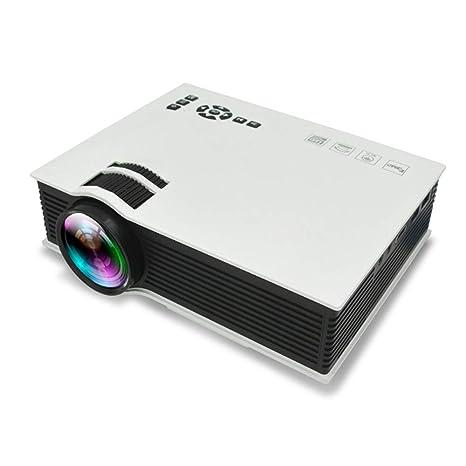 XC 1080P HD 3D Teatro Casero Proyector LED, Teléfono Móvil con ...