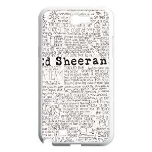 YUAHS(TM) Phone Case for Samsung Galaxy Note 2 N7100 with Ed Sheeran YAS036751