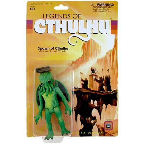 Spawn single item of Legend of Cthulhu / 3.75 inches retro action figure / The Legends of Cthulhu Spawn of Cthulhu Cthulhu [parallel import]